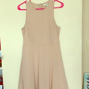 Forever 21 Dresses - Fitted a line Nude Dress